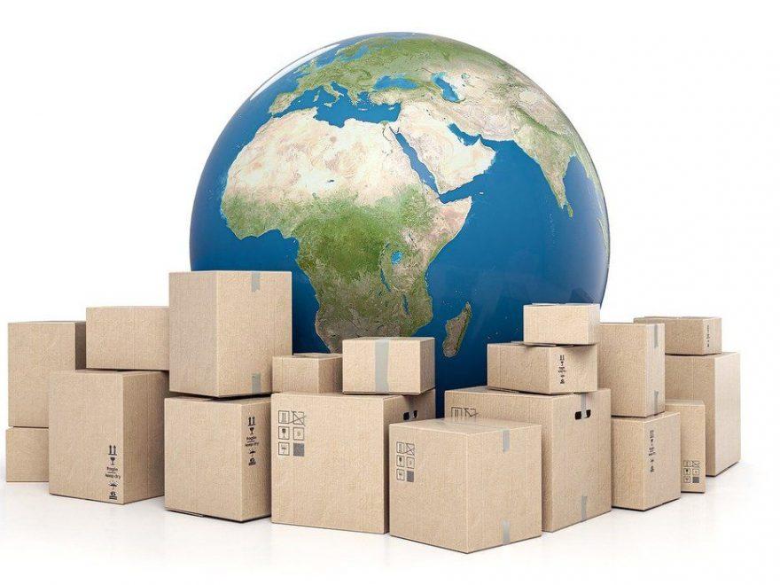 Sende pakke til utlandet